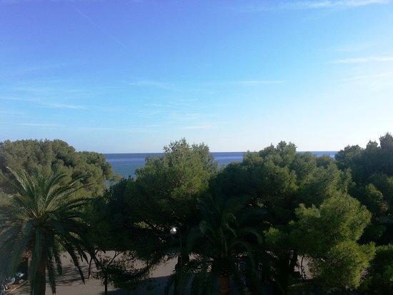 Ena Arenzano Hotel: La vista dal secondo piano