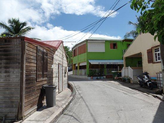 Iles des Saintes, กวาเดอลูป: le restaurant et sa terrasse