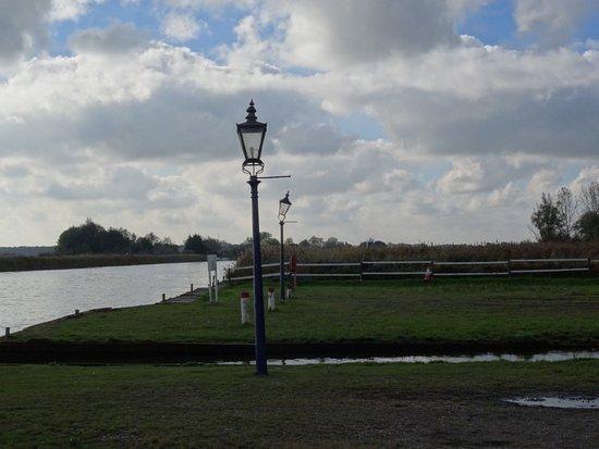 Reedham, UK: The Ferry Lamp posts