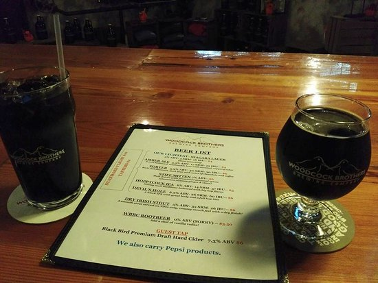 Wilson, NY: Orange Chocolate Stout & WBBC Root Beer
