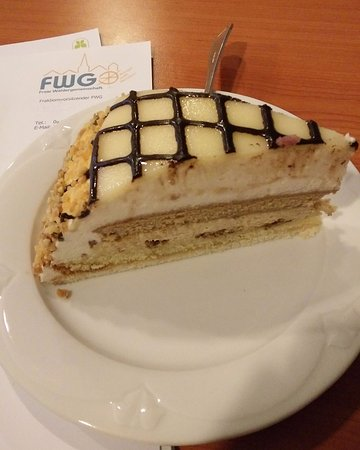 Flair Hotel Stadt Hoexter: Marzipan Torte