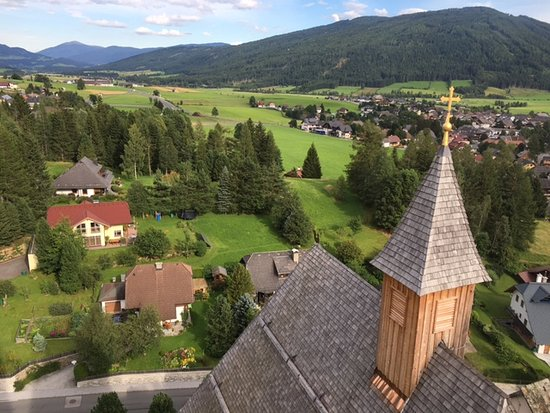 Mauterndorf, Αυστρία: view from tower