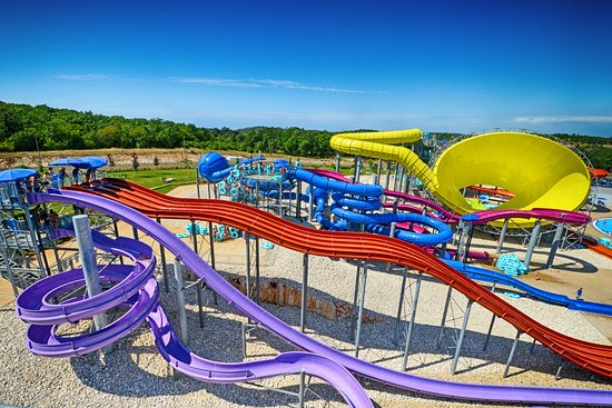 Porec, Kroatien: Slide and splash area