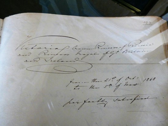 royal victoria hotel queen victoria s eldest daughter signed the guestbook