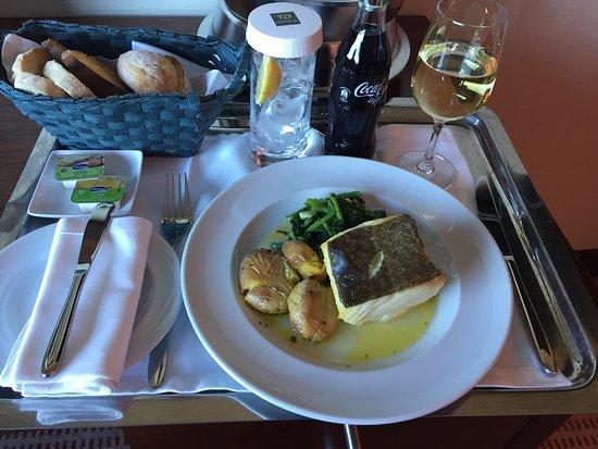 Porto Salvo, Portugal: Comida en la habitación. Realmente muy bien.