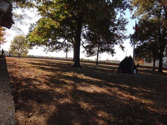 Silverdale Confederate Cemetery: Quiet solitude