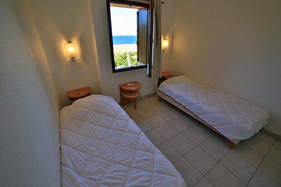 Alata, France : Chambre twin avec vue sur mer en Duplex