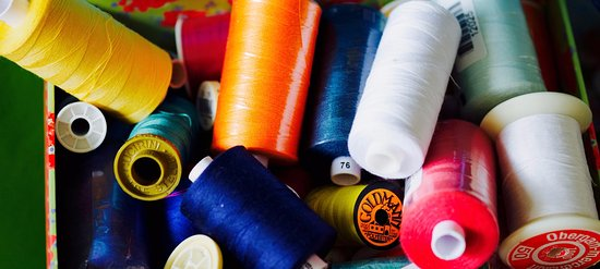 St Austell, UK: Sewing threads available at Sew and Fabric