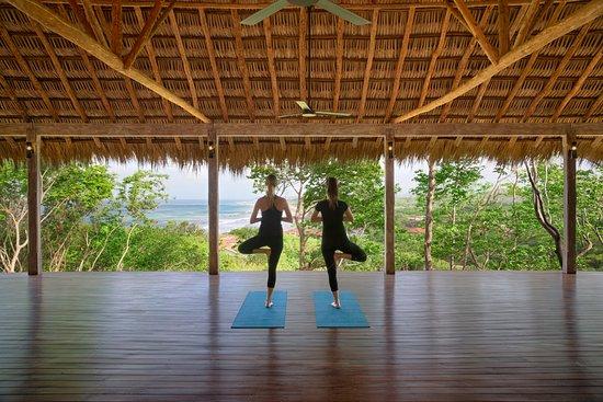 Tola, Nicaragua: The yoga studio overlooking Playa Santana