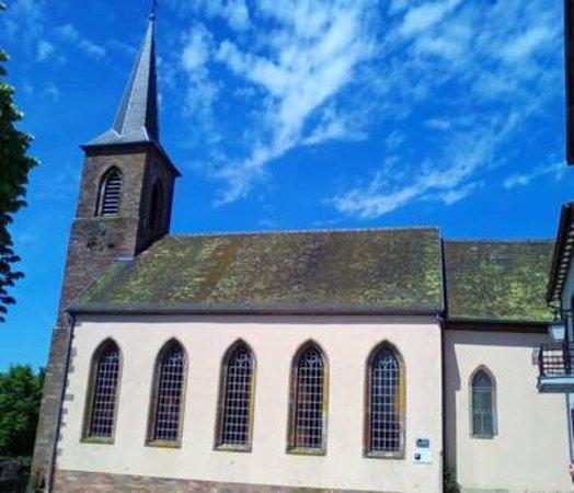 La Petite Pierre, Frankrike: Eglise Simultanée Notre-Dame de la Petite-Pierre