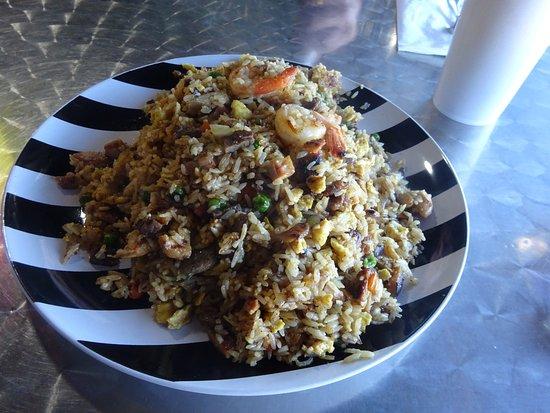 Alvarado, Teksas: Rainbow fried Rice 11.00