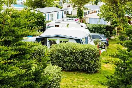 La Gueriniere, Francia: Emplacements Tentes / Caravanes / Camping Car