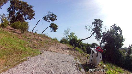 A singel ride in tel giborim park