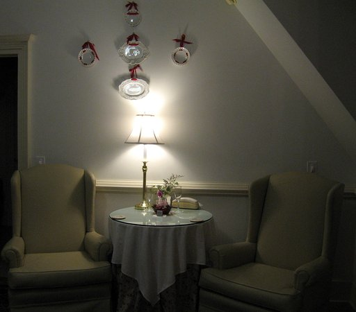Landrum, ساوث كارولينا: Sitting area in Dovecote room.