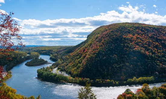 Warren, NJ: The water gap