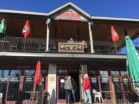 Beaconsfield, แคนาดา: Façade du restaurant