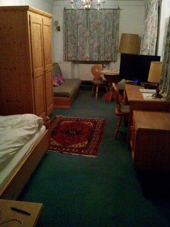 Gasthof zur Post in Kochel am See: Einzelzimmer