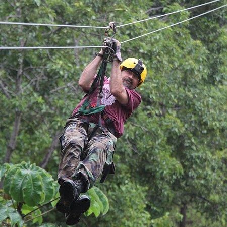 Rincon de La Vieja, Costa Rica: Ziplining at Vandara