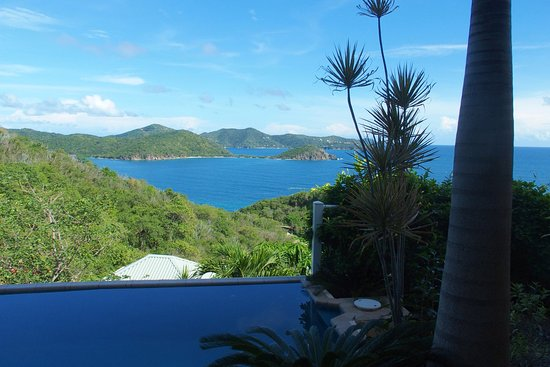 House of Open Arms : View from the villa.