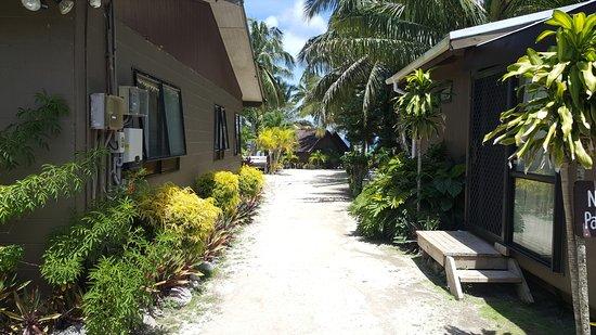 Rarotonga Backpackers: Eingang