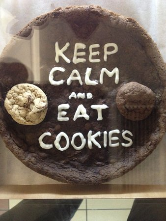 keep calm and eat cookies picture of mr cheney patio paulista