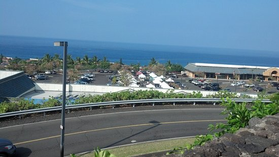 Keauhou, HI: View from the sitting area