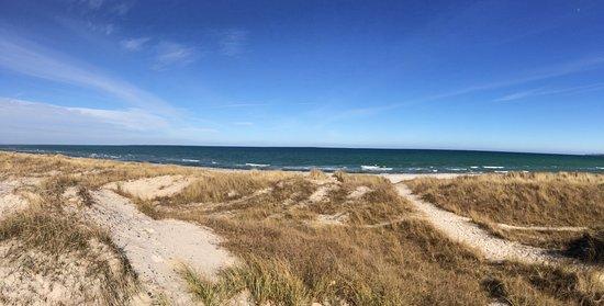 Stege, Danmark: Strand