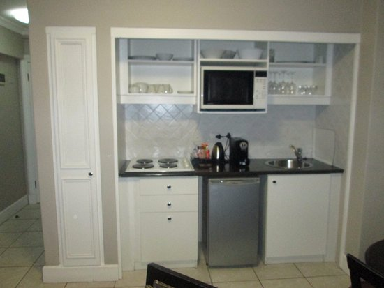 Bantry Bay, Sudáfrica: Kitchenette