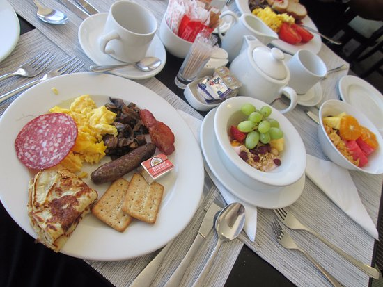Bantry Bay, Sudáfrica: Breakfast