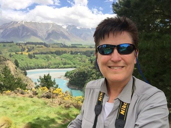 Rakaia, Nueva Zelanda: View from midpoint