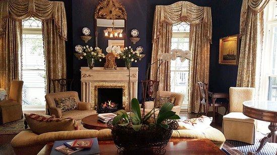 Front Parlor | Ballastone Inn | Savannah GA