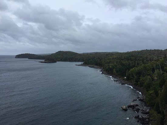 Two Harbors, MN: View to the south