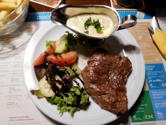 Petit restaurant Bistro city corner : Beefsteak
