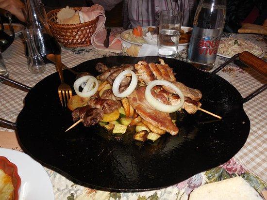 Palic, Serbia: food
