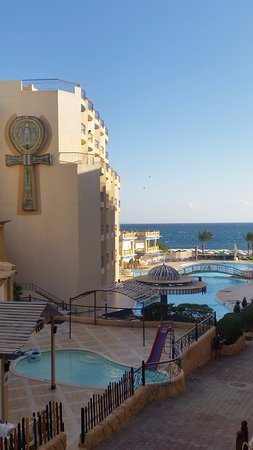 Sphinx Aqua Park Beach Resort Resort: Great wiew to pool and see.
