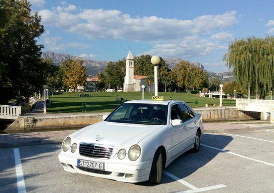 Taxi transfer Solin