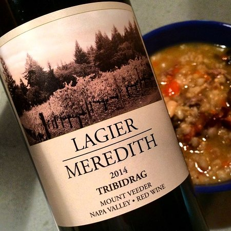 Napa Valley, Kalifornien: Delicious Zinfadel with a bean casserole