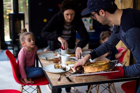 Eastman, Canadá: L'expérience Zoobox... brunch en famille!