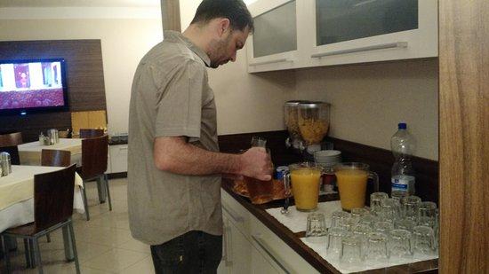 Pension Bed & Breakfast: café da manhã