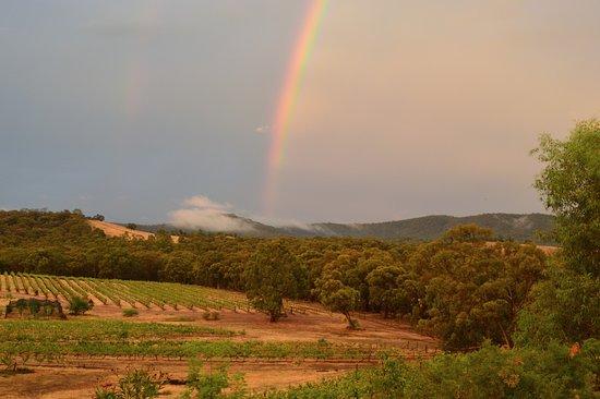 Moonambel, Australia: rainbow