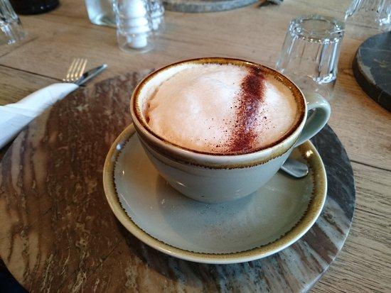 Wirksworth, UK: Cappuccino