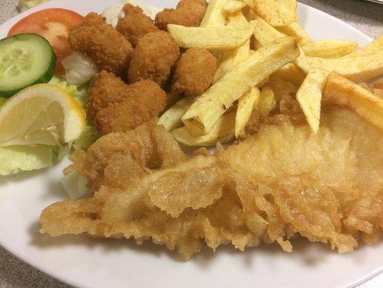 The big fish restaurant ollerton omd men om for Big fish seafood bistro