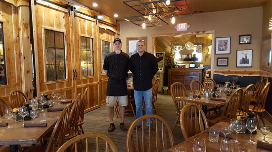 Prineville, OR: Chef Troy and Manager Wally