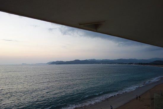 Hotel Barra de Navidad: sunset