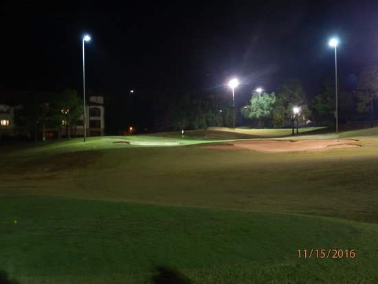 The Legends Walk Course: view from 8th hole tee box