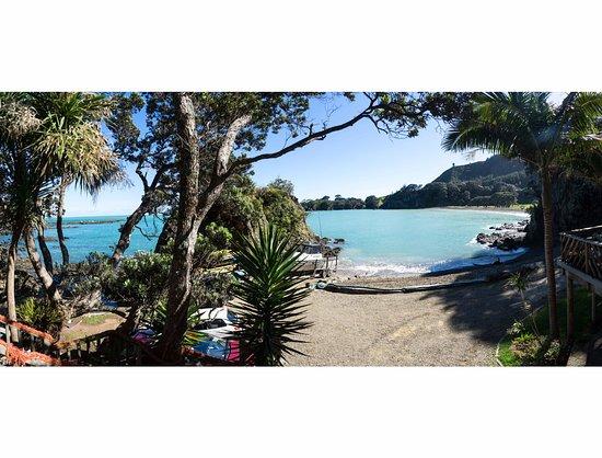 Opotiki, Selandia Baru: Seaview from the Retreat
