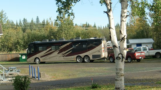 Prince George, Canadá: Tourists returning from Alaska