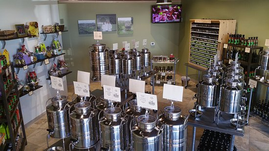 At The Oilerie Sun Prairie you can try all of our extra virgin olive oils and aged balsamic vine