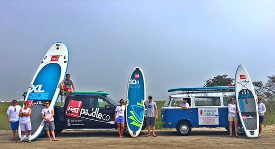 Westhampton Beach, Nowy Jork: redpaddleco USA Tour stopped by for demo day.  Lots of Fun!