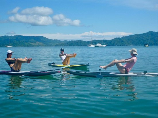 Vajra Sol Yoga Adventures: yoga on our SUP boards